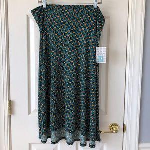 LulaRoe Azure 2X Skirt